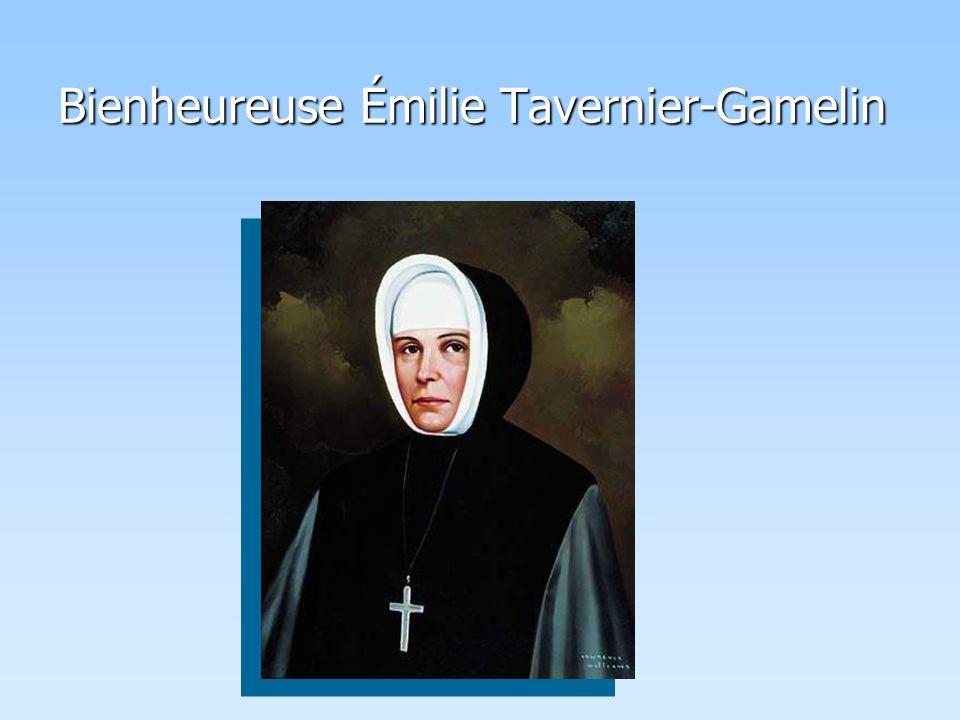 Bienheureuse Émilie Tavernier-Gamelin