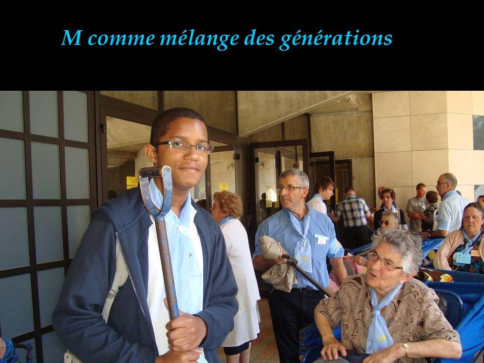 M comme mélange des générations