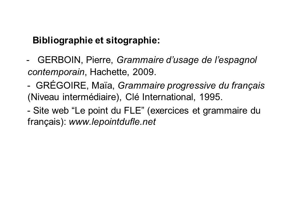 Bibliographie et sitographie: