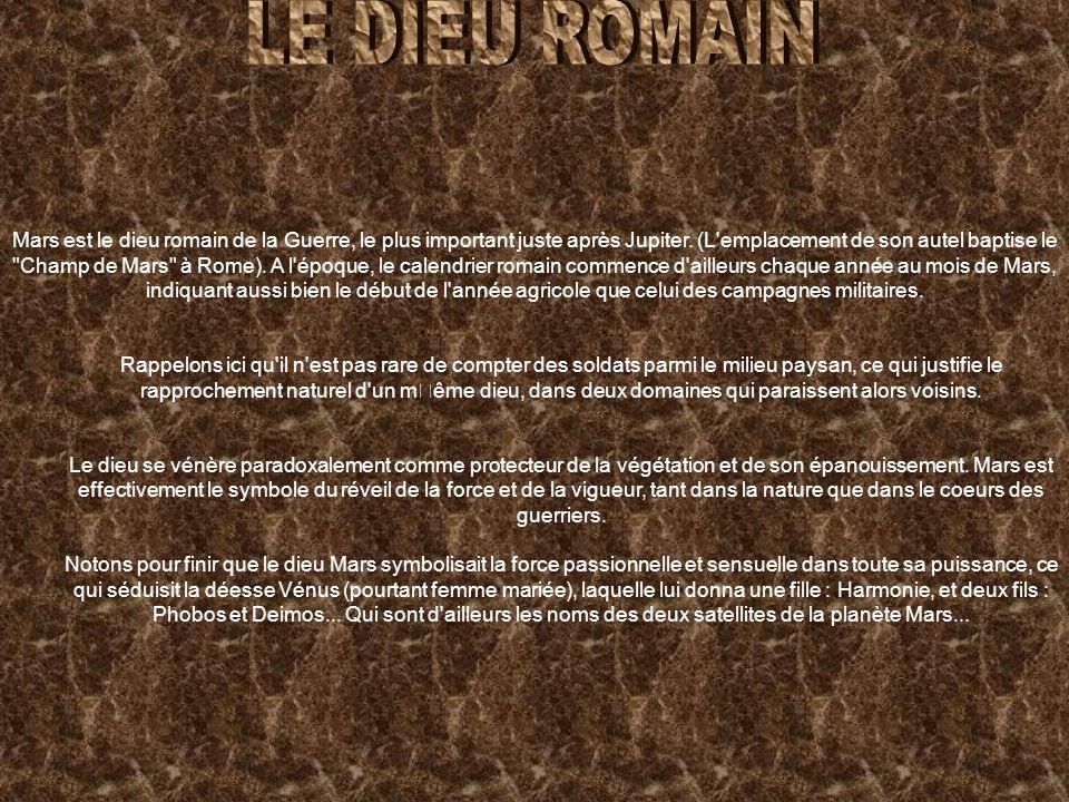 LE DIEU ROMAIN