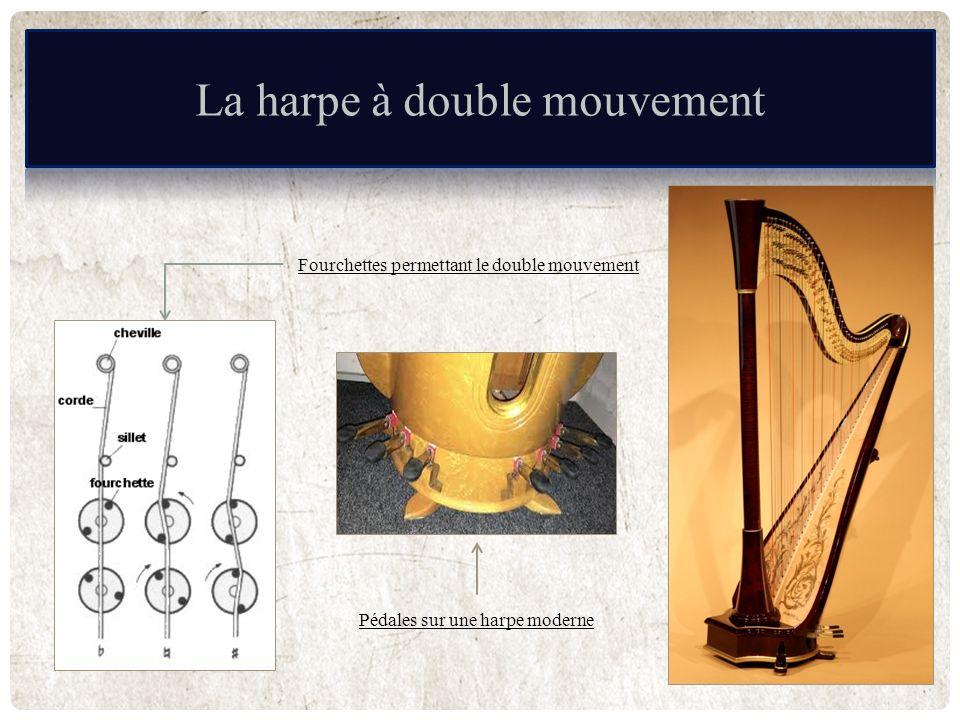 La harpe à double mouvement
