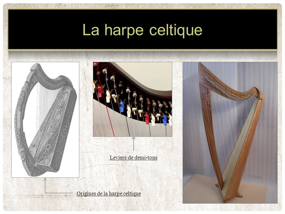 Origines de la harpe celtique