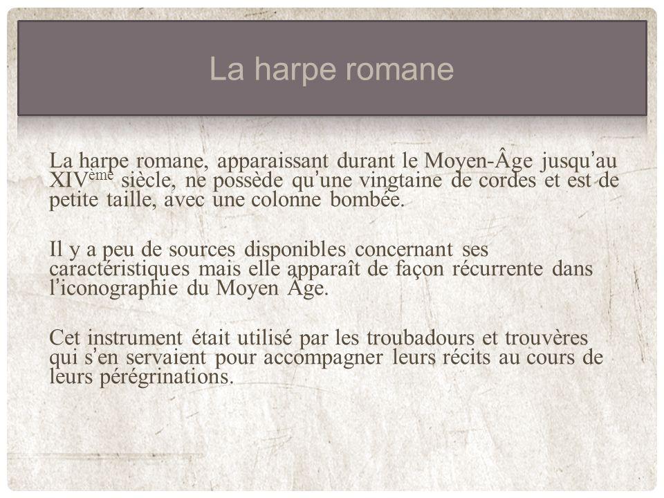 La harpe romane