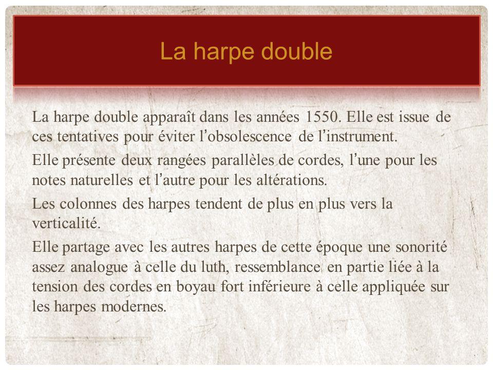 La harpe double La harpe double
