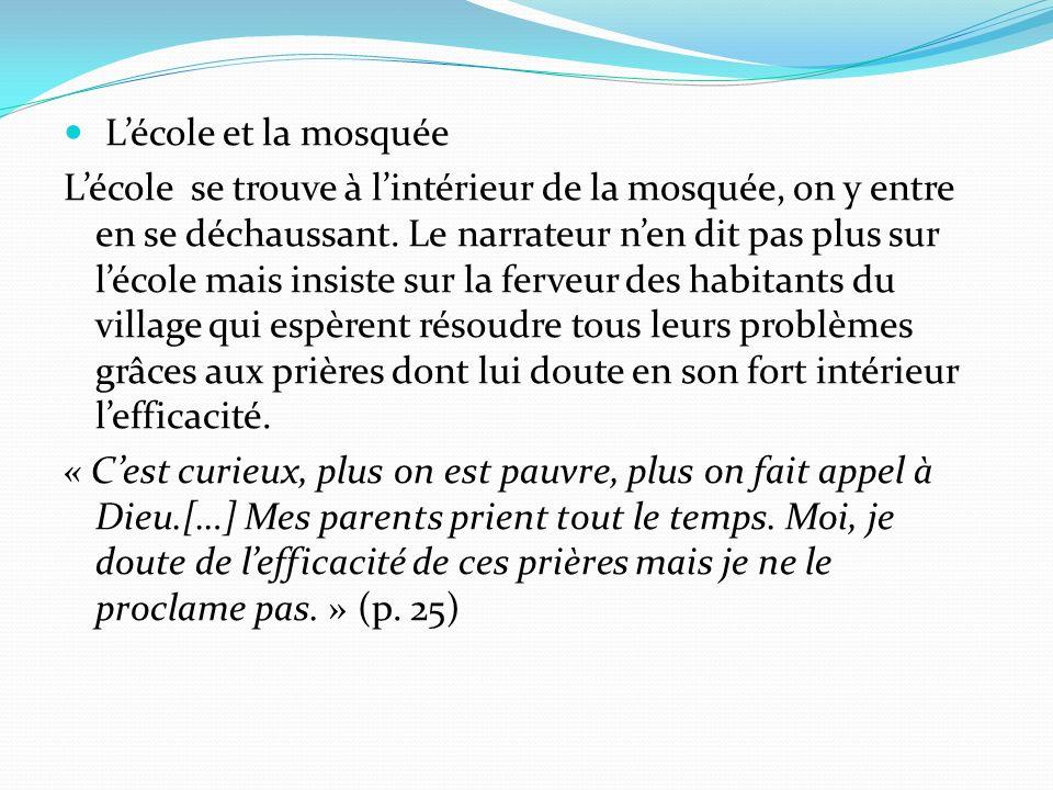 L'école et la mosquée