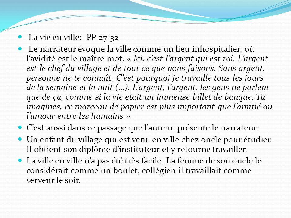 La vie en ville: PP 27-32