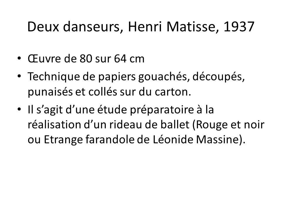 Deux danseurs, Henri Matisse, 1937