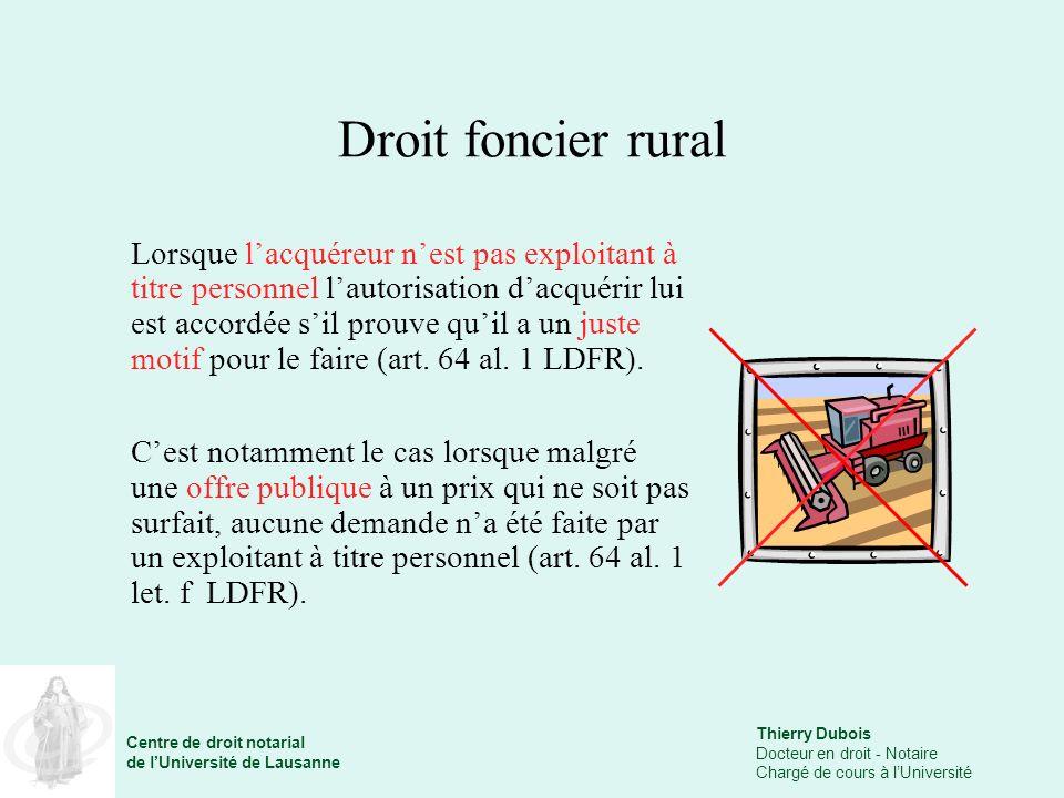 Droit foncier rural