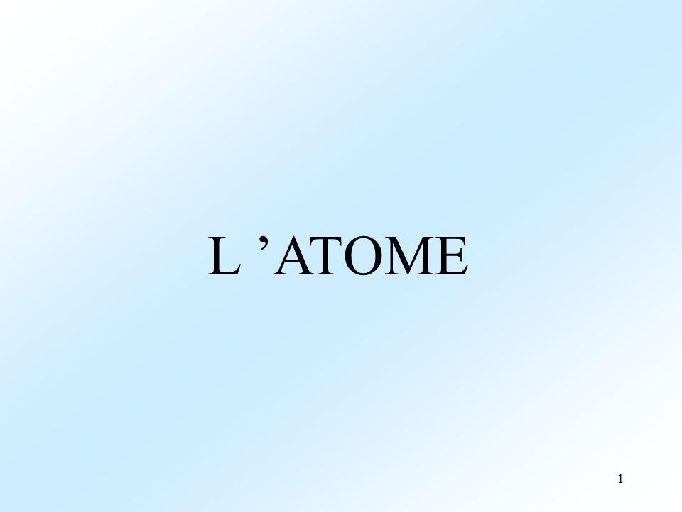 L 'ATOME