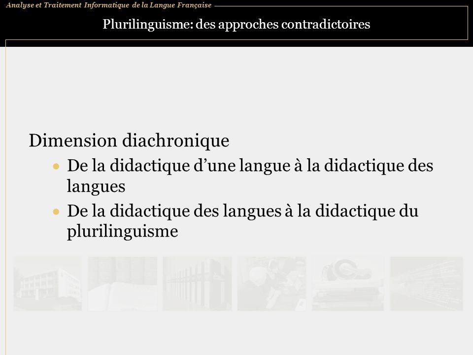 Plurilinguisme: des approches contradictoires