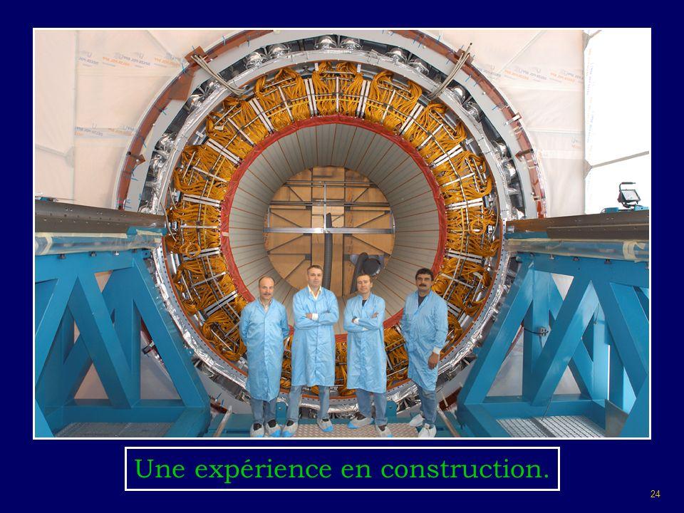 Une expérience en construction.