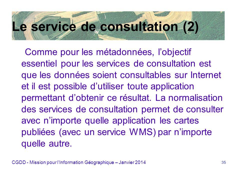 Le service de consultation (2)