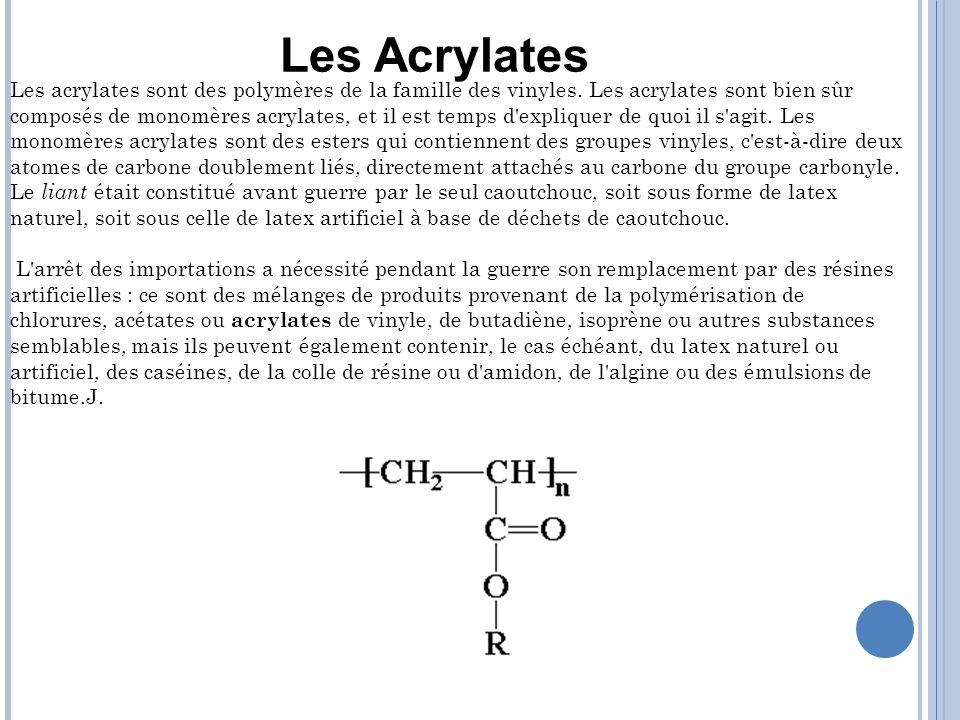 Les Acrylates