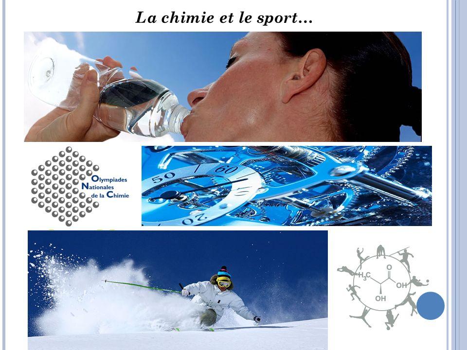 La chimie et le sport…