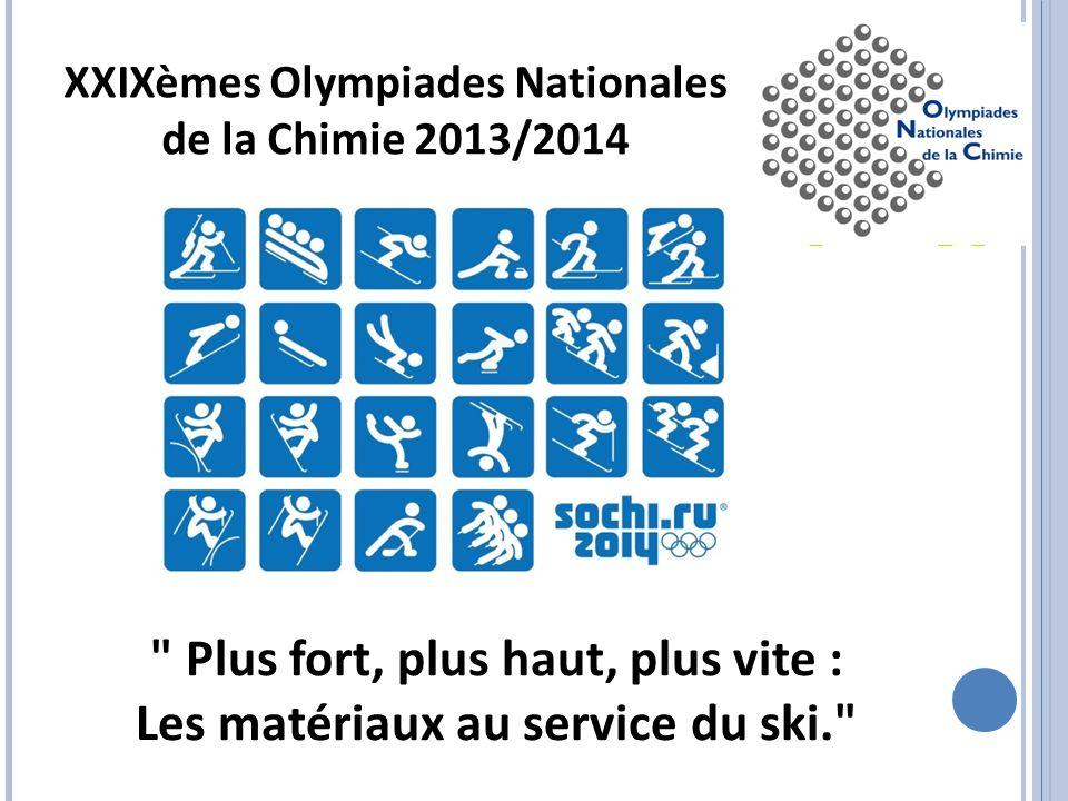 Plus fort, plus haut, plus vite : Les matériaux au service du ski.