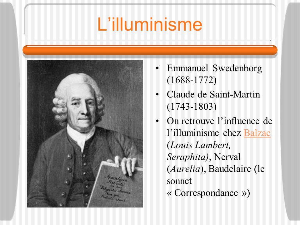 L'illuminisme Emmanuel Swedenborg (1688-1772)