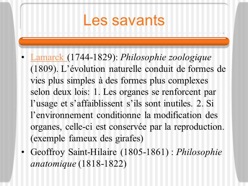 Les savants