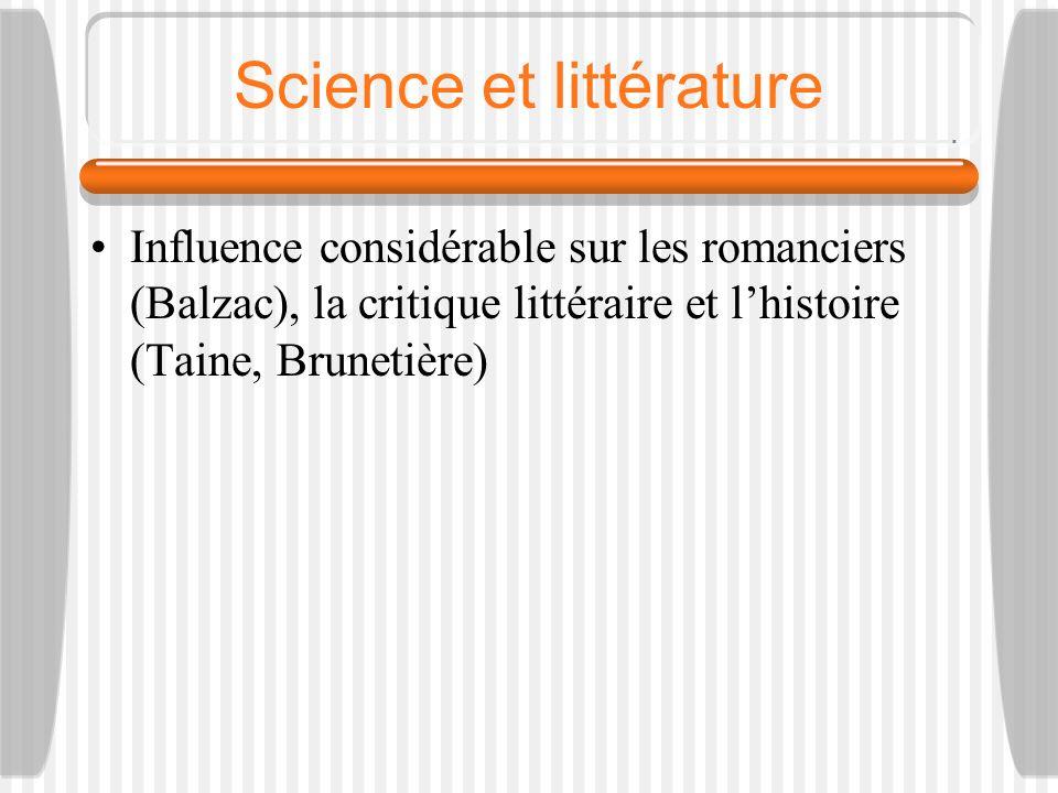 Science et littérature