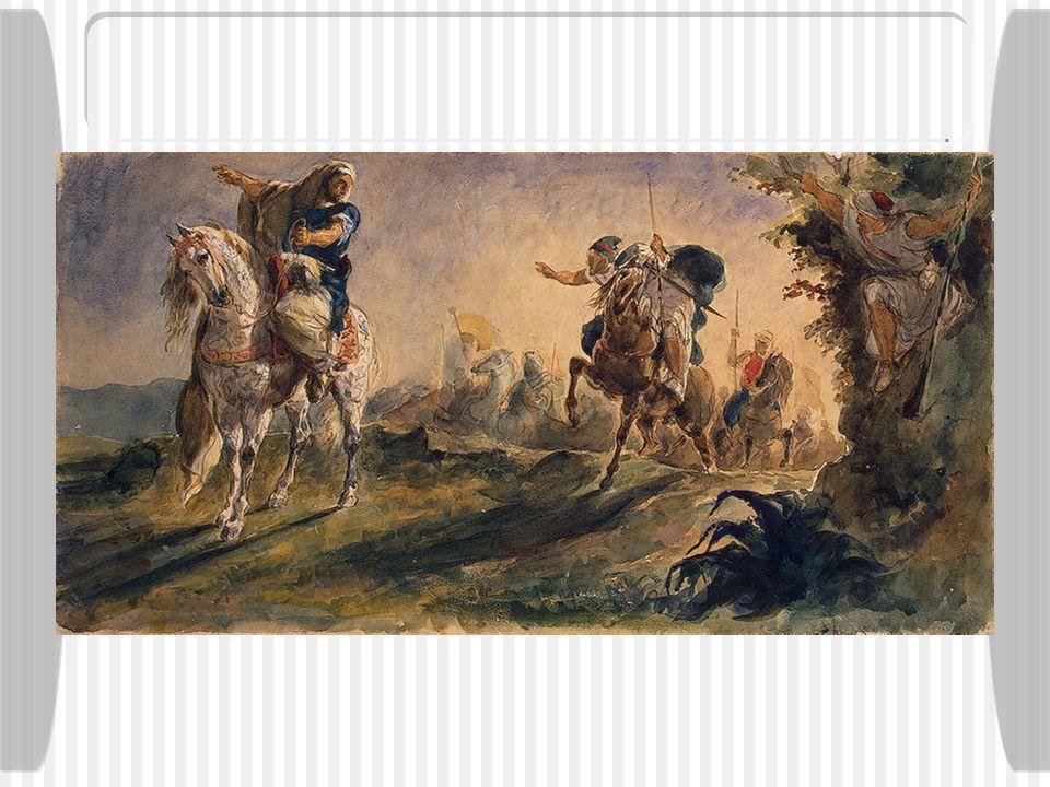 Cavaliers arabes, de Delacroix