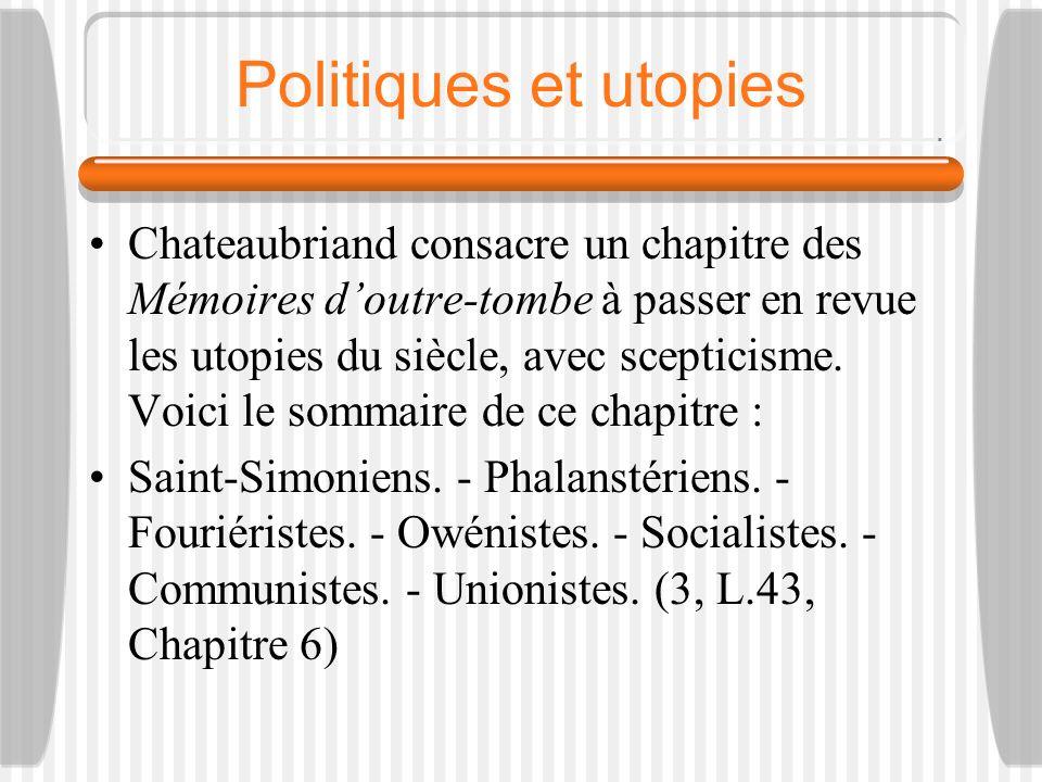 Politiques et utopies