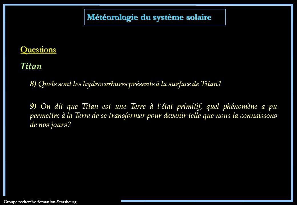 Météorologie du système solaire