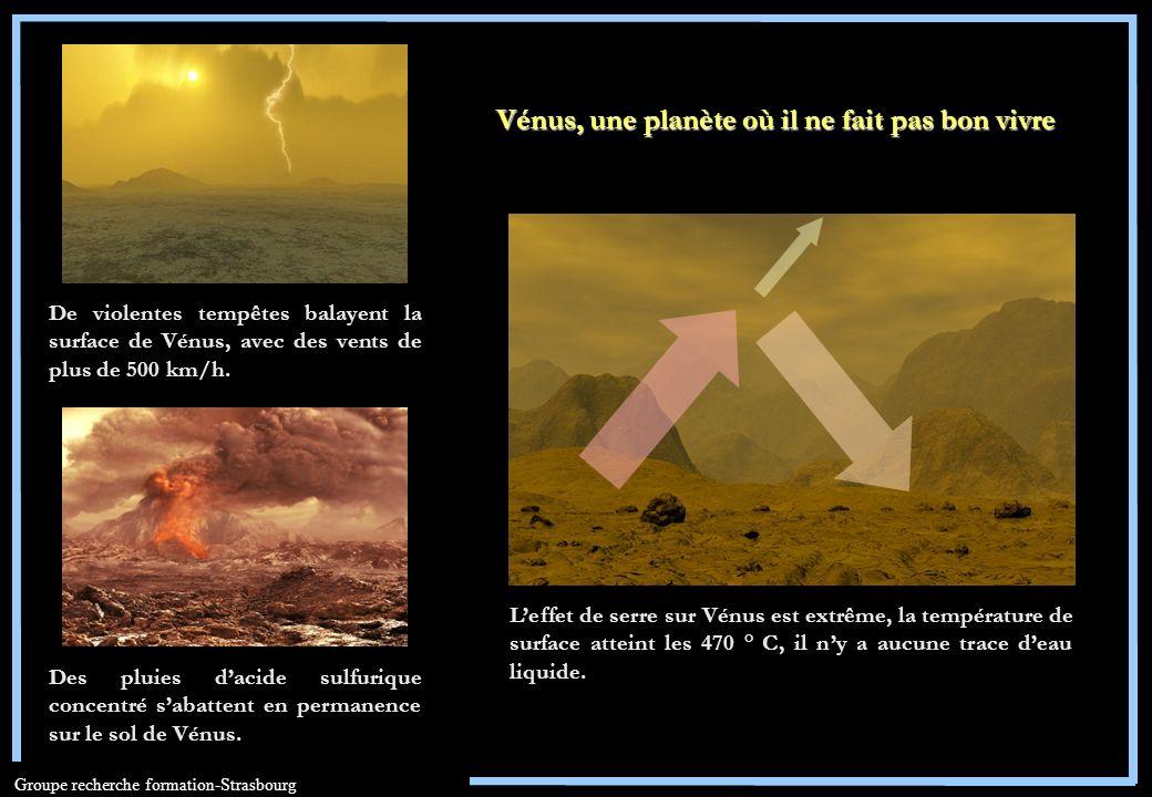 Vénus, une planète où il ne fait pas bon vivre