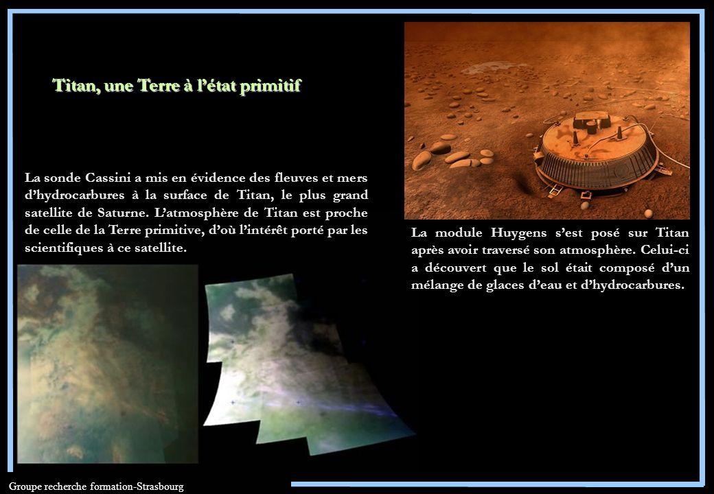 Titan, une Terre à l'état primitif