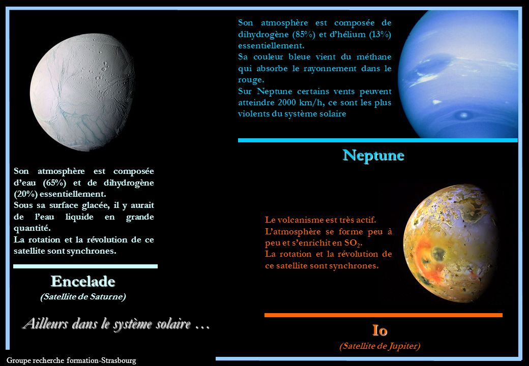 (Satellite de Saturne) (Satellite de Jupiter)