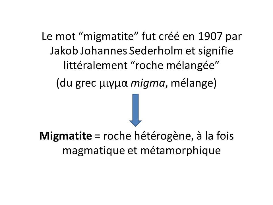 (du grec μιγμα migma, mélange)