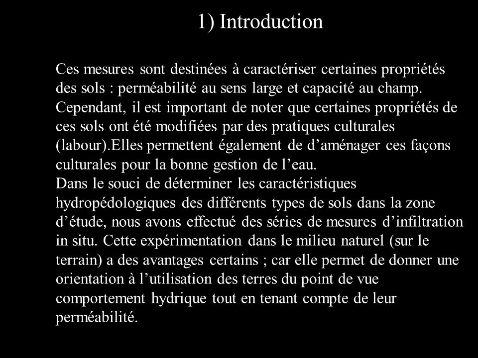 1) Introduction Introduction