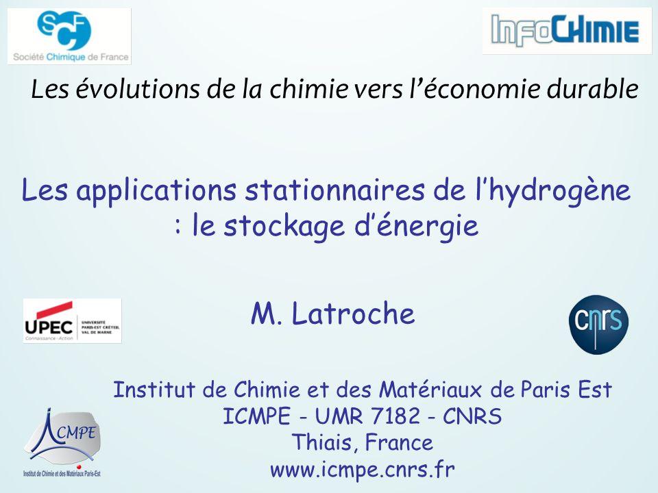 Les évolutions de la chimie vers l'économie durable
