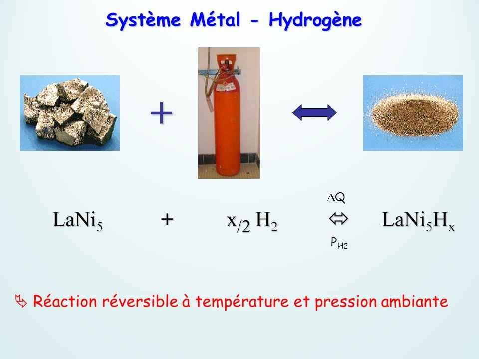 Système Métal - Hydrogène