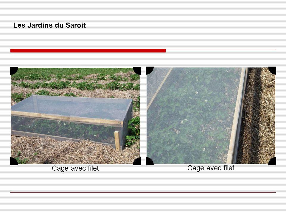 Les Jardins du Saroit Cage avec filet Cage avec filet
