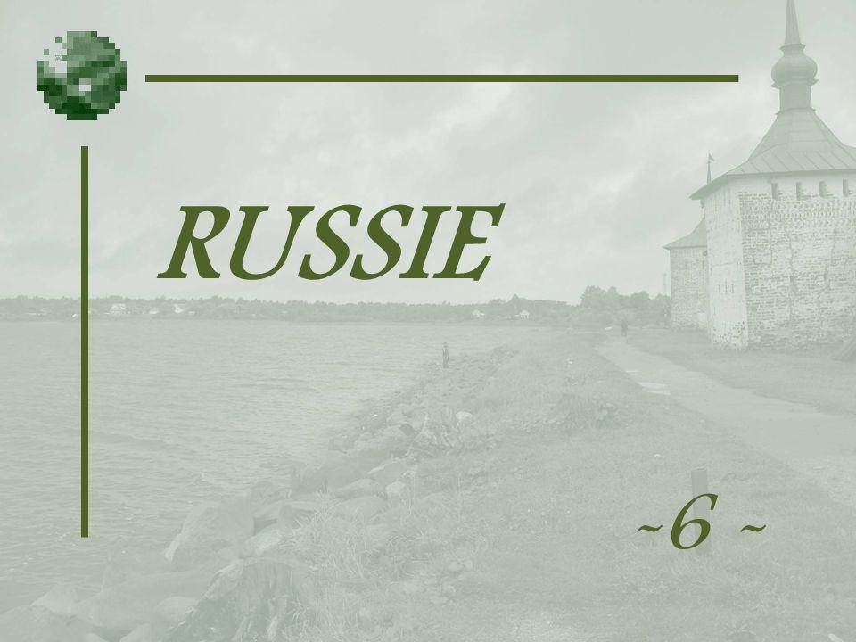RUSSIE -6 -