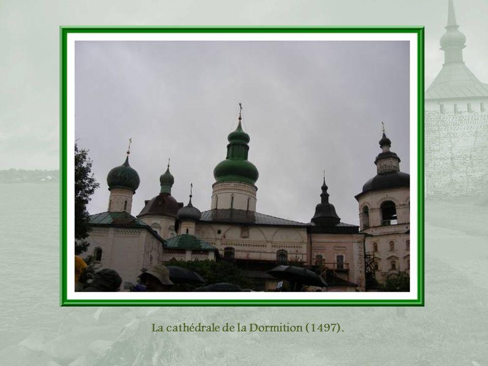 La cathédrale de la Dormition (1497).