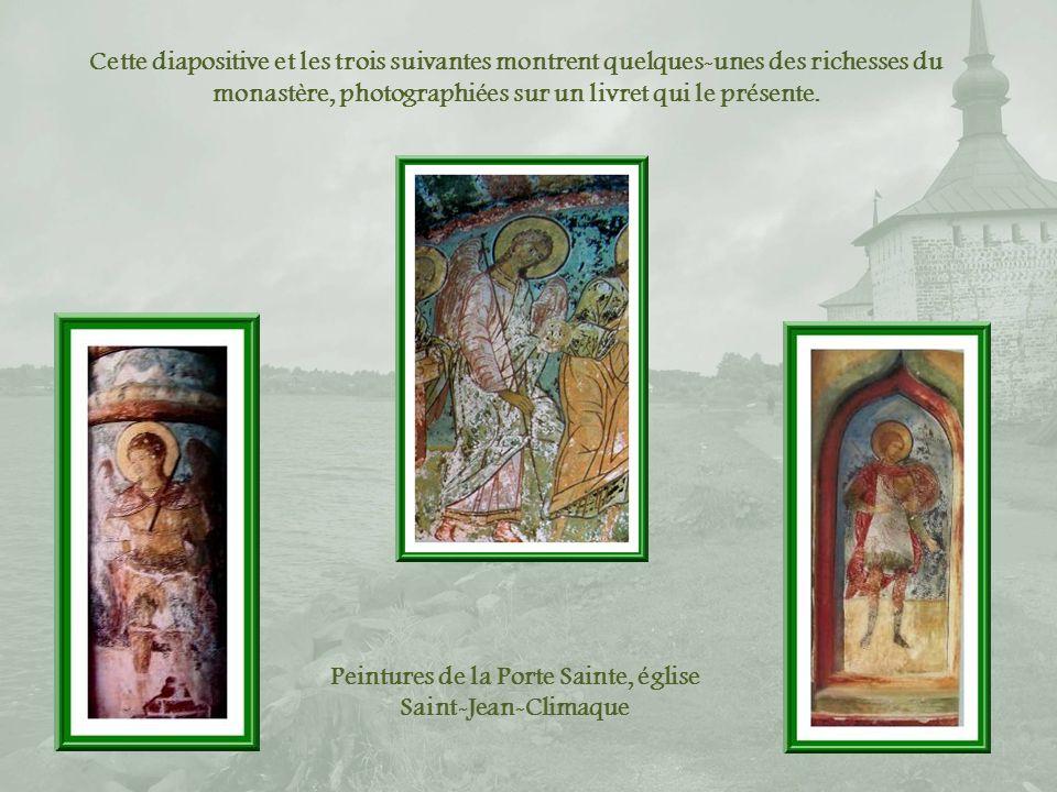 Peintures de la Porte Sainte, église Saint-Jean-Climaque