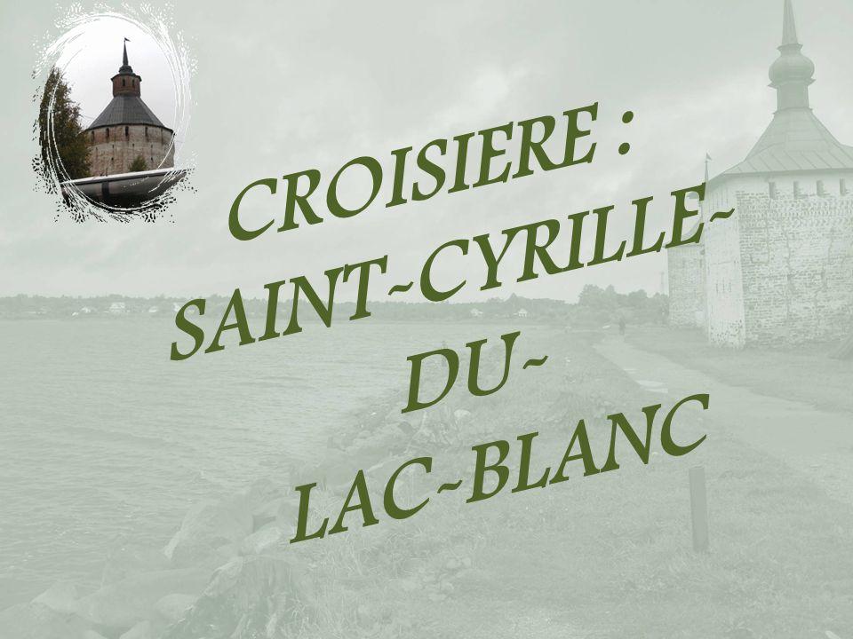 CROISIERE : SAINT-CYRILLE-DU- LAC-BLANC