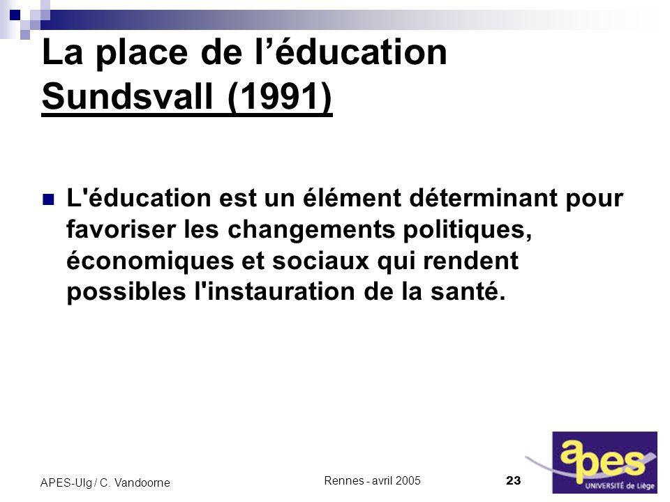 La place de l'éducation Sundsvall (1991)
