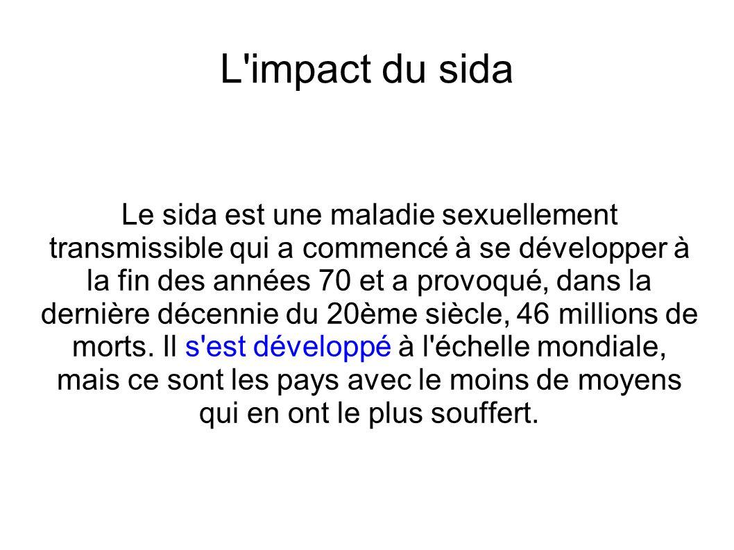 L impact du sida