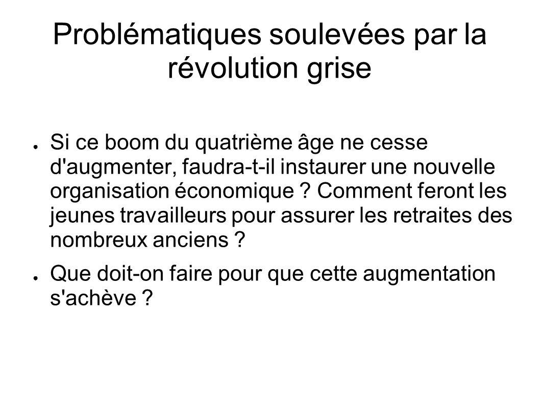Problématiques soulevées par la révolution grise