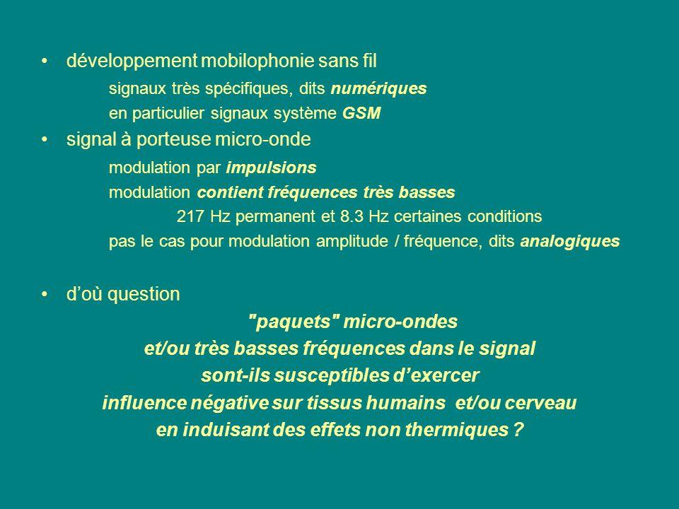 développement mobilophonie sans fil