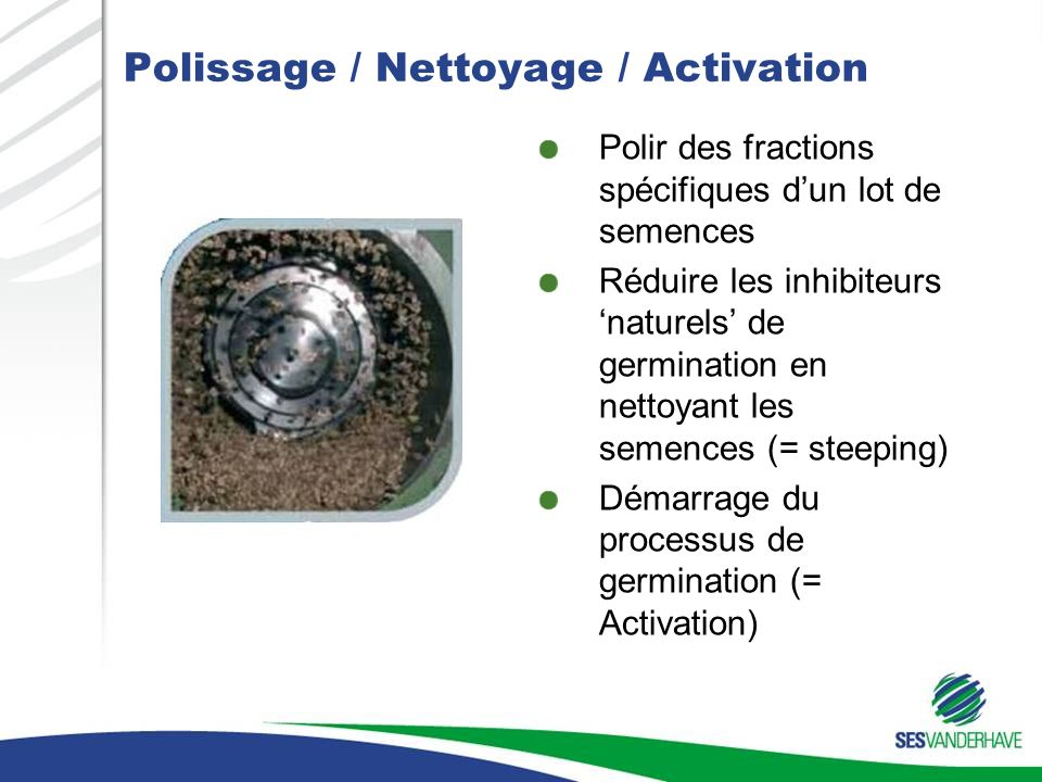 Polissage / Nettoyage / Activation