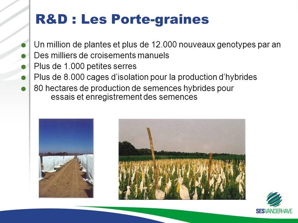 R&D : Les Porte-graines