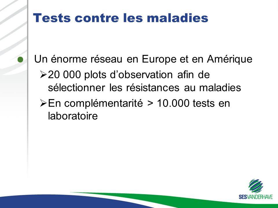 Tests contre les maladies
