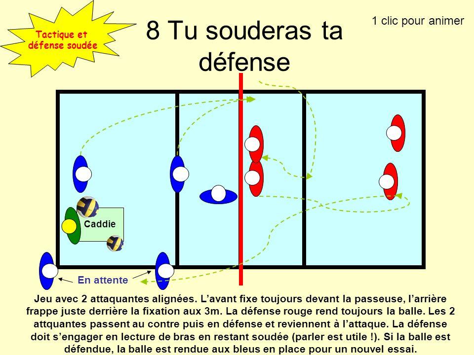Tactique et défense soudée