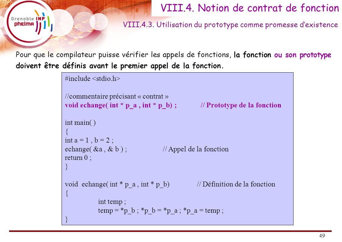 VIII.4. Notion de contrat de fonction