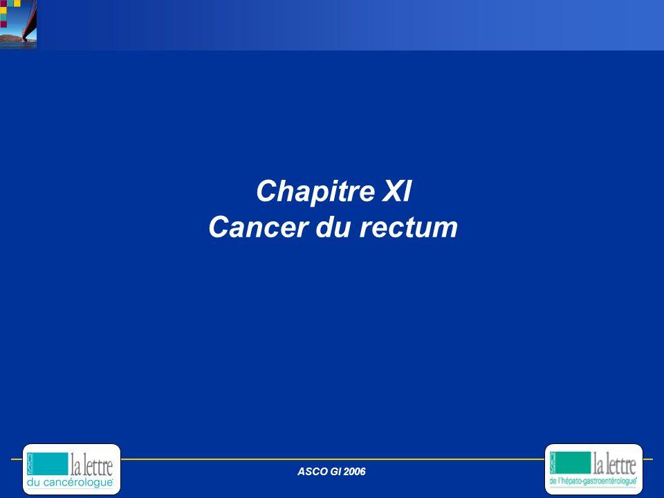 Chapitre XI Cancer du rectum