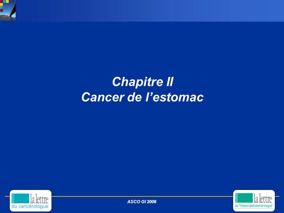 Chapitre II Cancer de l'estomac