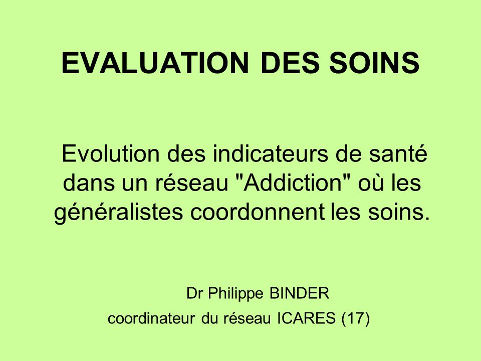 Dr Philippe BINDER coordinateur du réseau ICARES (17)