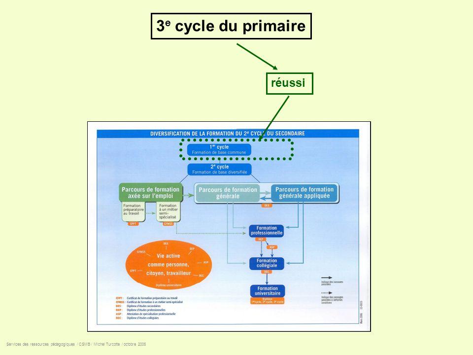 3e cycle du primaire réussi